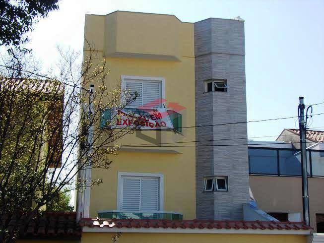 Apartamento residencial à venda, Vila Bela Vista, Santo André.