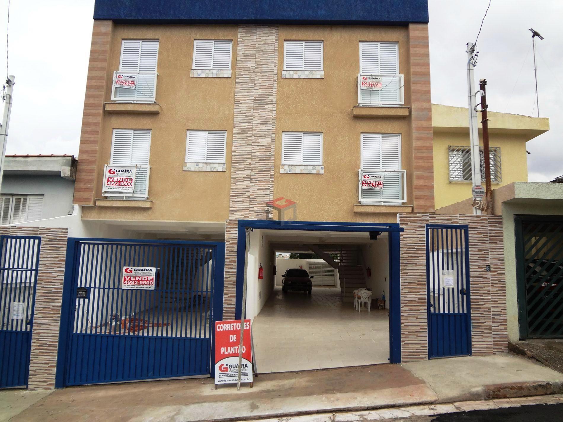Apartamento de 2 dormitórios à venda em Jardim Cristiane, Santo André - SP