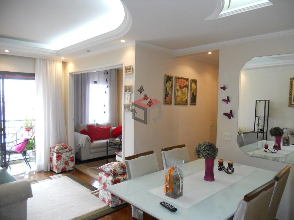 Apartamento residencial à venda, Vila Euclides, São Bernardo do Campo - AP50697.
