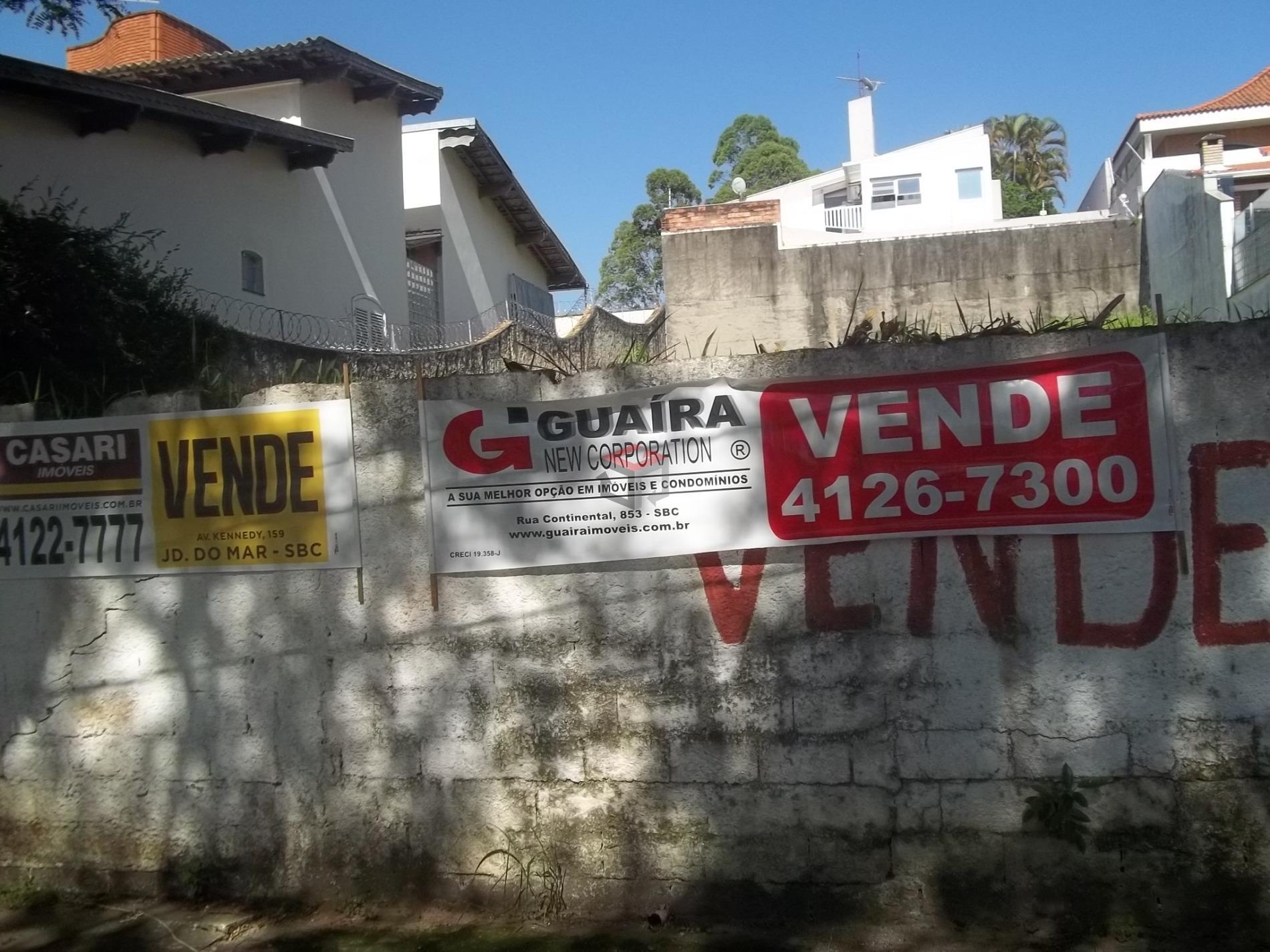 Terreno à venda em Chácara Inglesa, São Bernardo Do Campo - SP