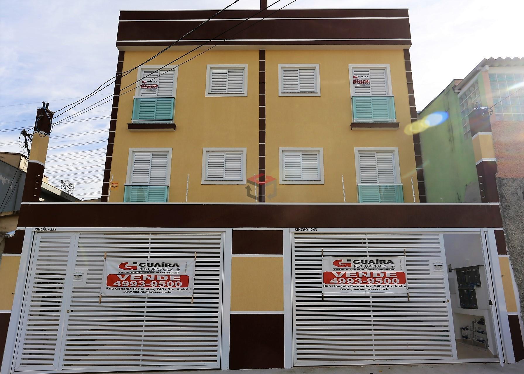 Apartamento residencial à venda, Jardim Alvorada, Santo André - AP43507.