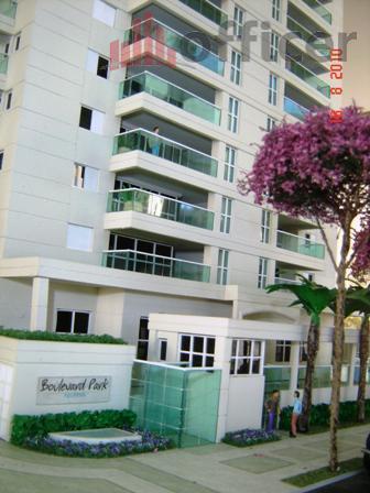 Apartamento residencial à venda, Parque Residencial Aquarius, São José dos Campos - AP0095.