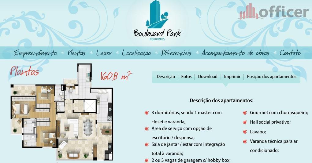 Apartamento residencial à venda, Jardim Aquárius, São José dos Campos - AP0327.