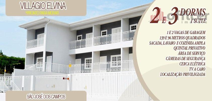 Village residencial para locação, Jardim América, São José dos Campos - VL0003.