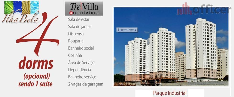 Apartamento residencial à venda, Parque Industrial, São José dos Campos - AP0258.