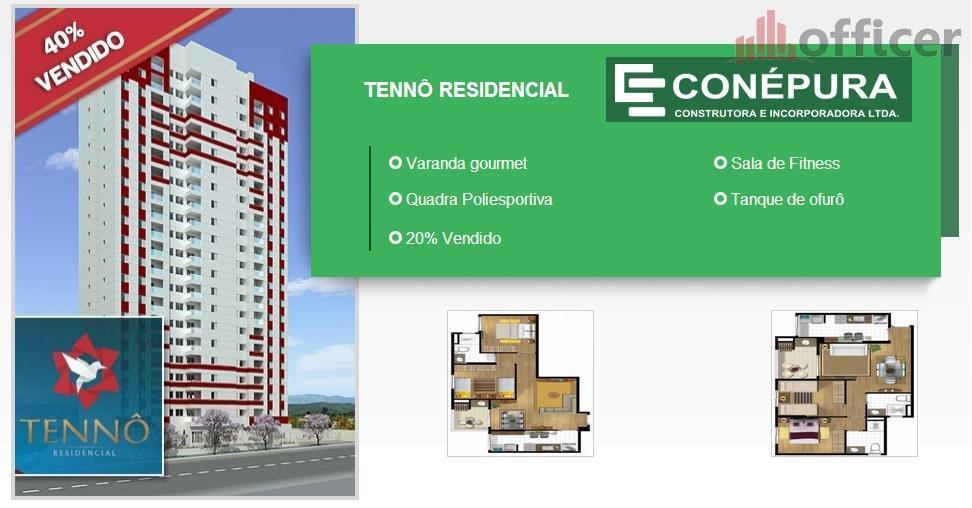 Apartamento residencial à venda, Jardim Oriente, São José dos Campos - AP0552.