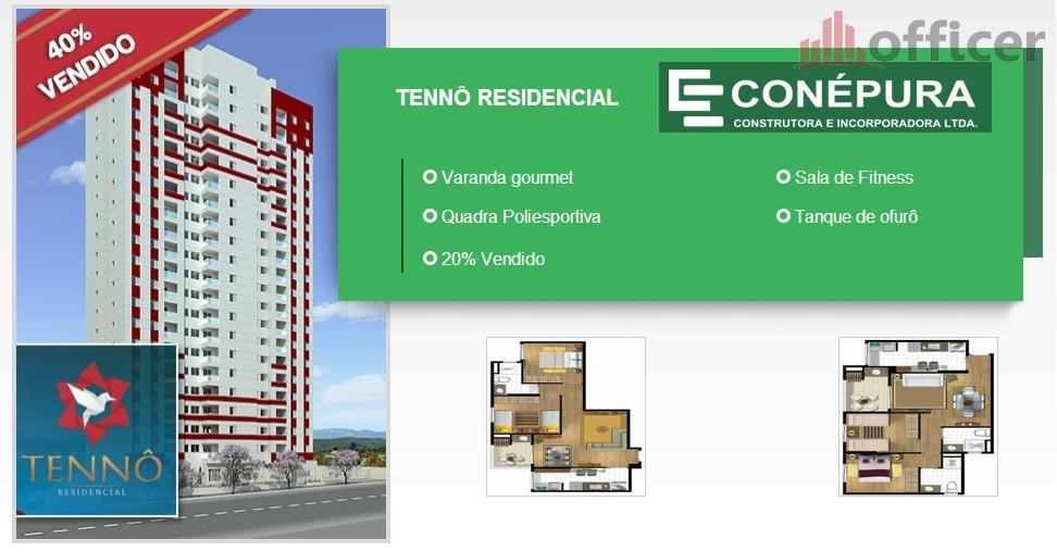 Apartamento  residencial à venda, Jardim Oriente, São José dos Campos.