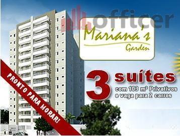 Apartamento residencial à venda, Jardim América, São José dos Campos - AP0576.