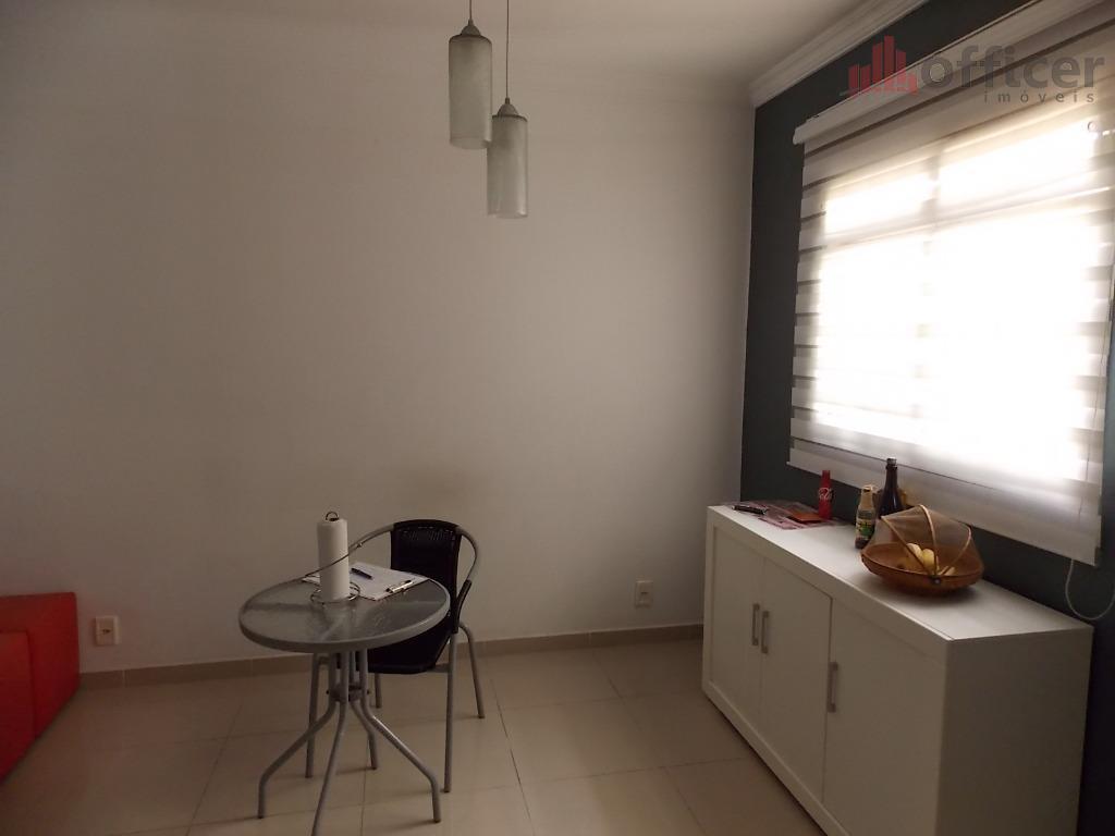 maravilhoso sobrado com 2 dormitórios, ampla cozinha planejada integrada a área externa / gourmet, área de...
