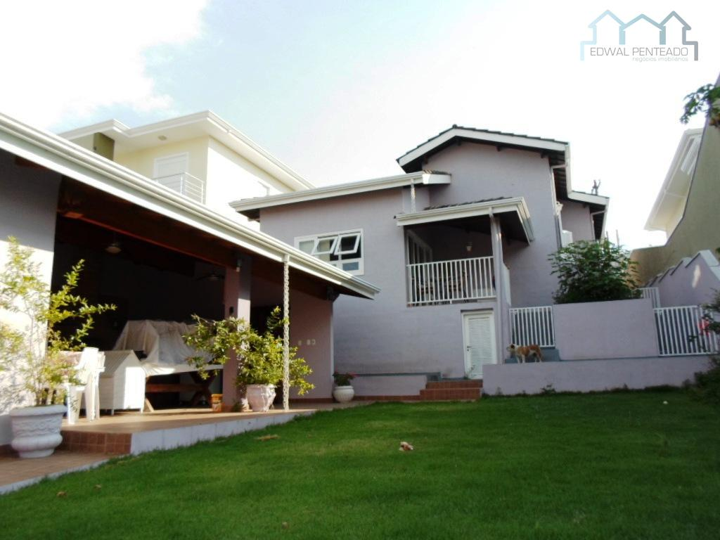 Casa  residencial à venda, Condomínio Terras de Santa Cruz, Itatiba.