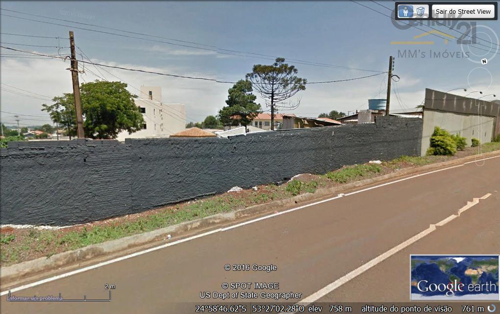 Terreno comercial à venda, Maria Luiza, Cascavel - TE0191.