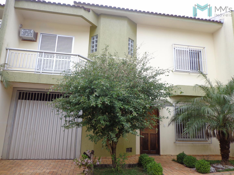 Sobrado residencial à venda, Maria Luiza, Cascavel - SO0189.