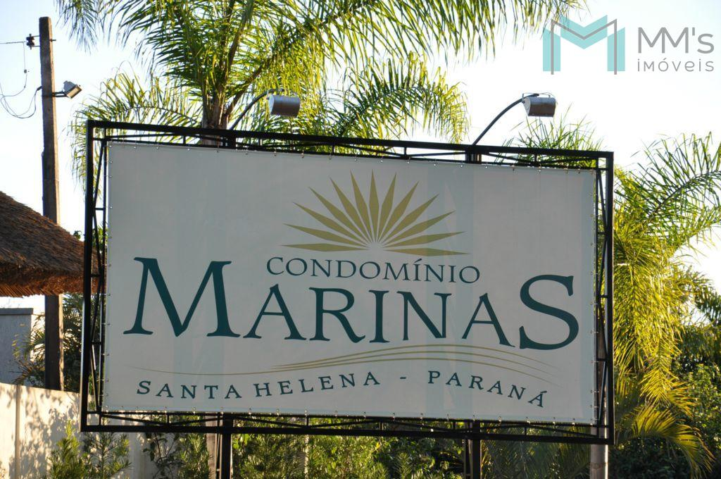 Terreno à venda, Condomínio Marinas de Santa Helena - TE0043.