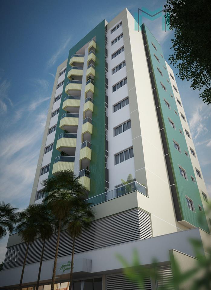 Apartamento residencial à venda, Parque São Paulo, Cascavel - AP0434.