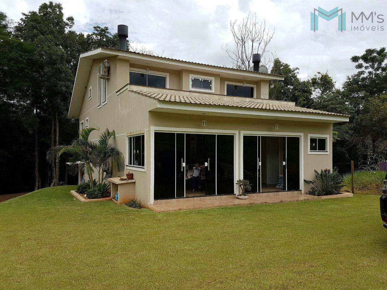 Sobrado residencial à venda, Zona Rural, Boa Vista da Aparecida - SO0332.