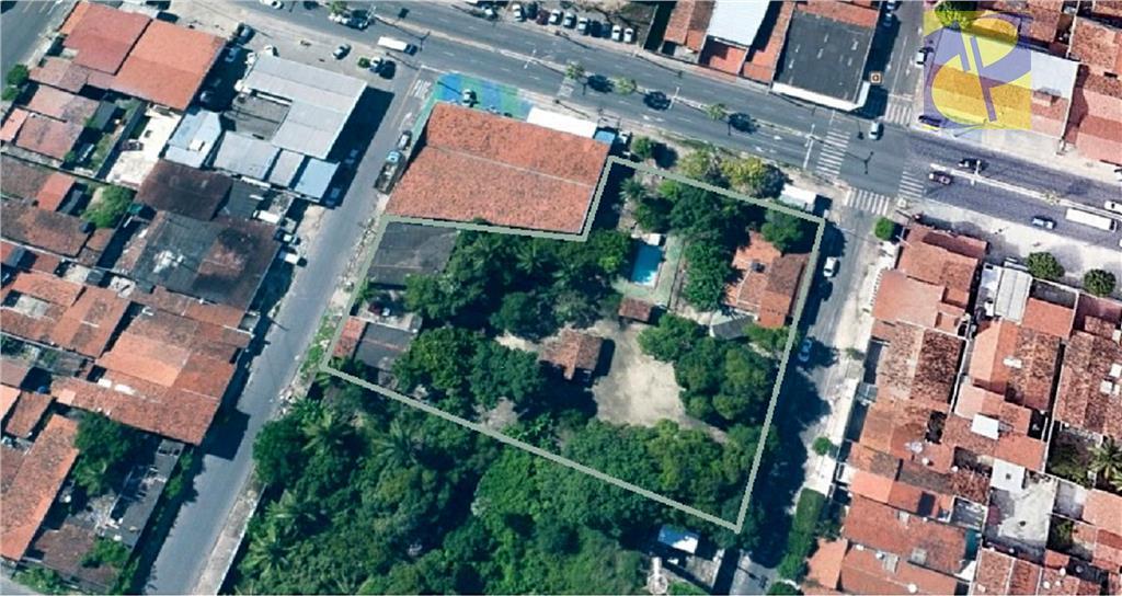 Terreno residencial à venda, Serrinha, Fortaleza - TE0258.