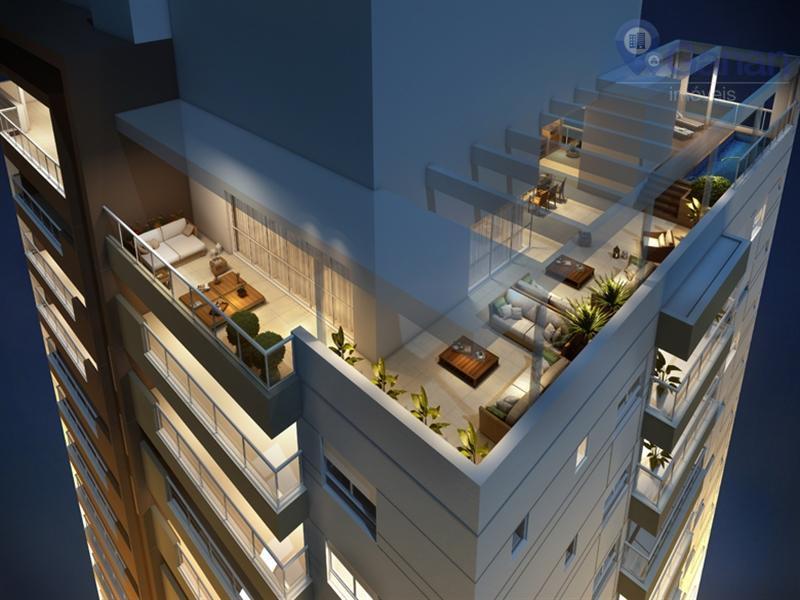 Apartamento com 3 dormitórios à venda, 275 m² por R$ 3.800.000 - Campo Belo - São Paulo/SP