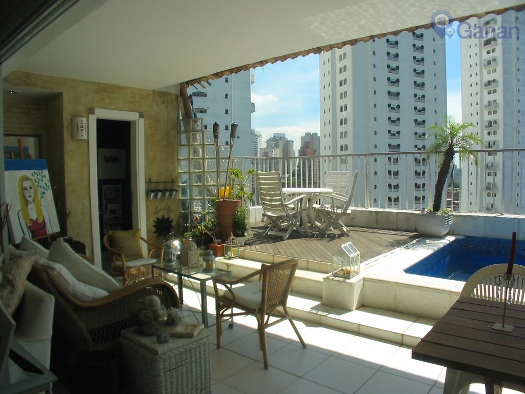 Cobertura  residencial para venda e locação, Vila Morumbi, São Paulo.
