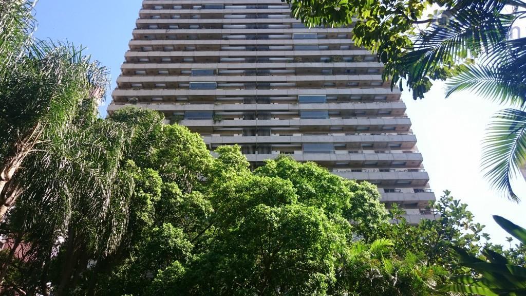 apartamento para venda no alto da boa vista 157mts, 3 dormitórios (1 suíte), sala 2 ambientes,...