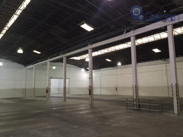 Galpão comercial para locação, Vila Leopoldina, São Paulo - GA0042.