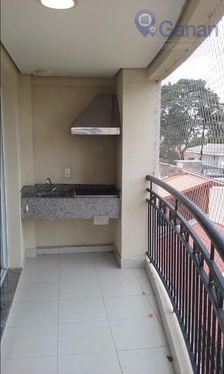 Locação, Vila Santa Catarina, 3 dormitórios, terraço grill, 2 vagas.
