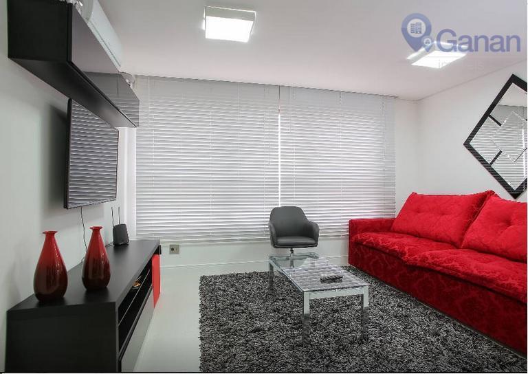 Apartamento residencial para venda e locação, Berrini, São Paulo.