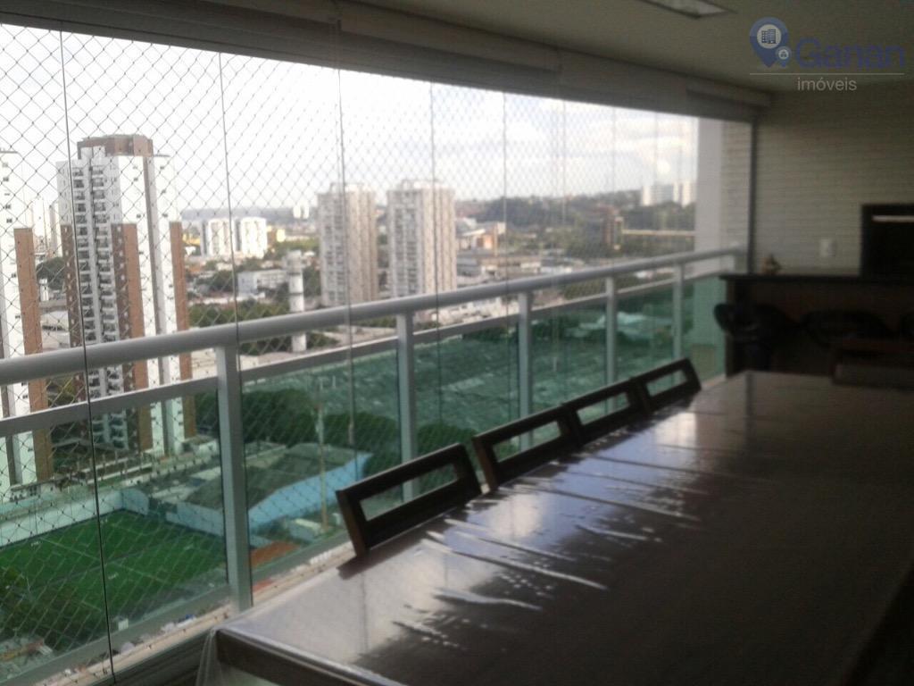 Apartamento com 4 dormitórios à venda, 138 m² por R$ 1.450.000  Rua Luiz Seráphico Júnior, 755 - Granja Julieta - São Paulo/SP