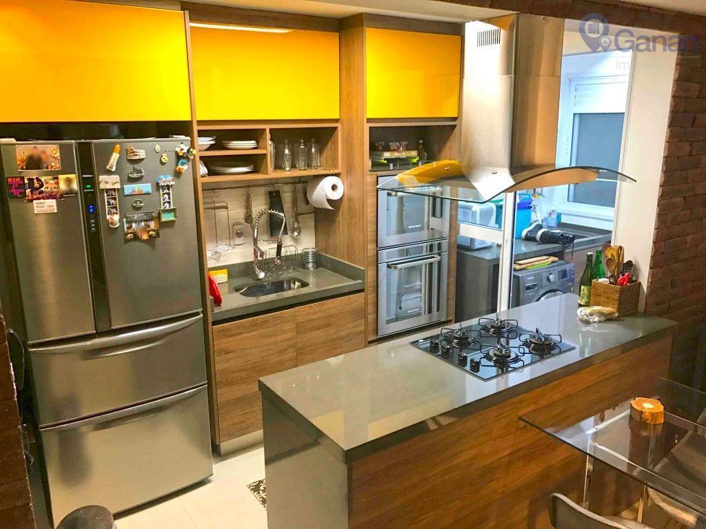 Cobertura residencial à venda, Brooklin Paulista, São Paulo - CO0128.