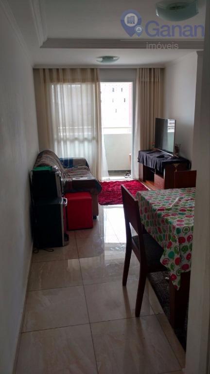 Apartamento residencial para locação, Vila Guarani(Zona Sul), São Paulo - AP4153.