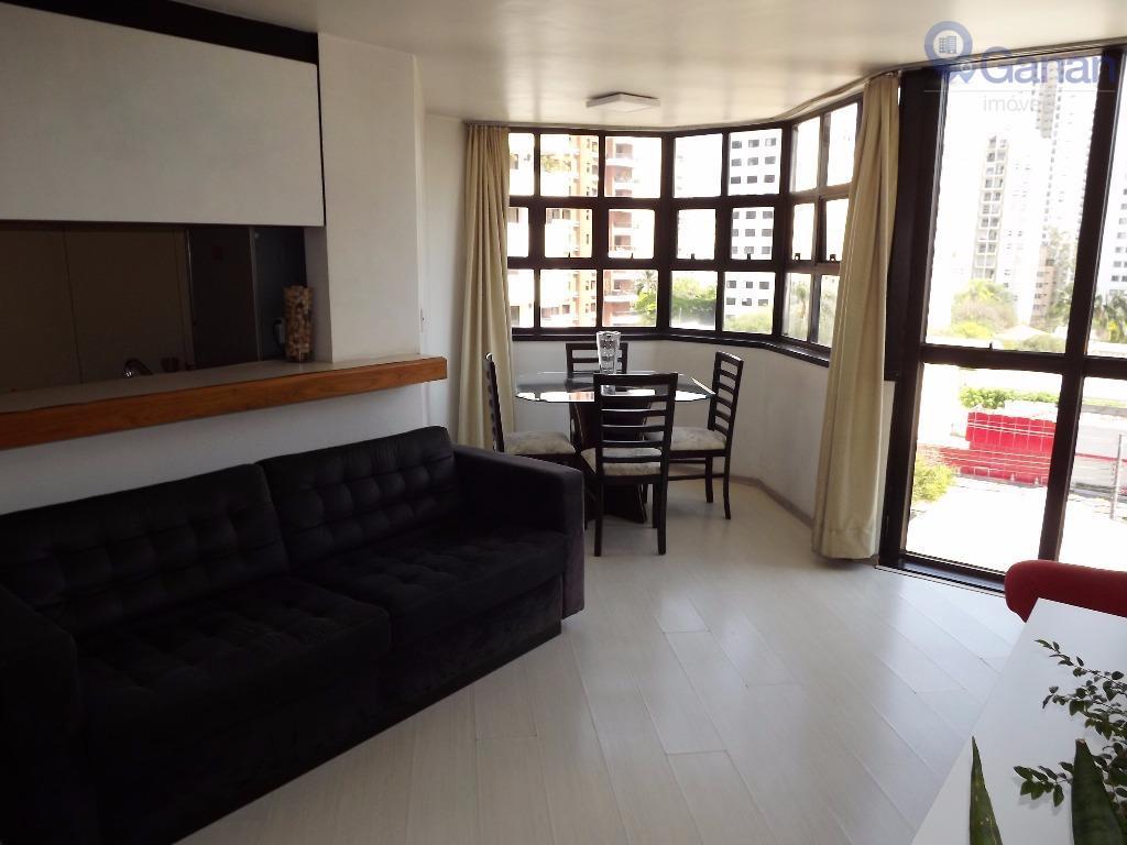 Flat residencial à venda, Campo Limpo, São Paulo.