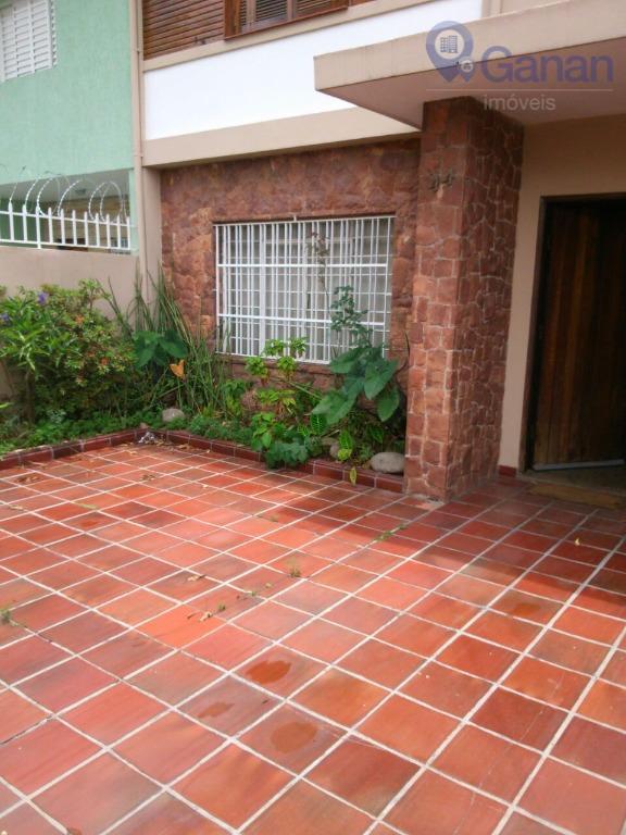 Sobrado residencial para locação, Moema Pássaros, São Paulo.