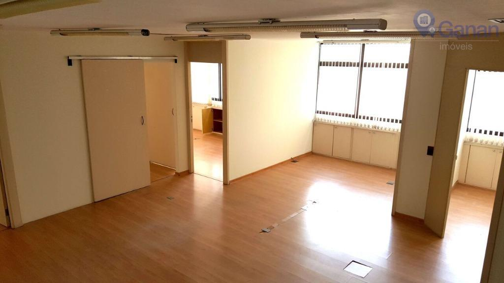 Conjunto comercial para locação, Brooklin Novo, São Paulo.