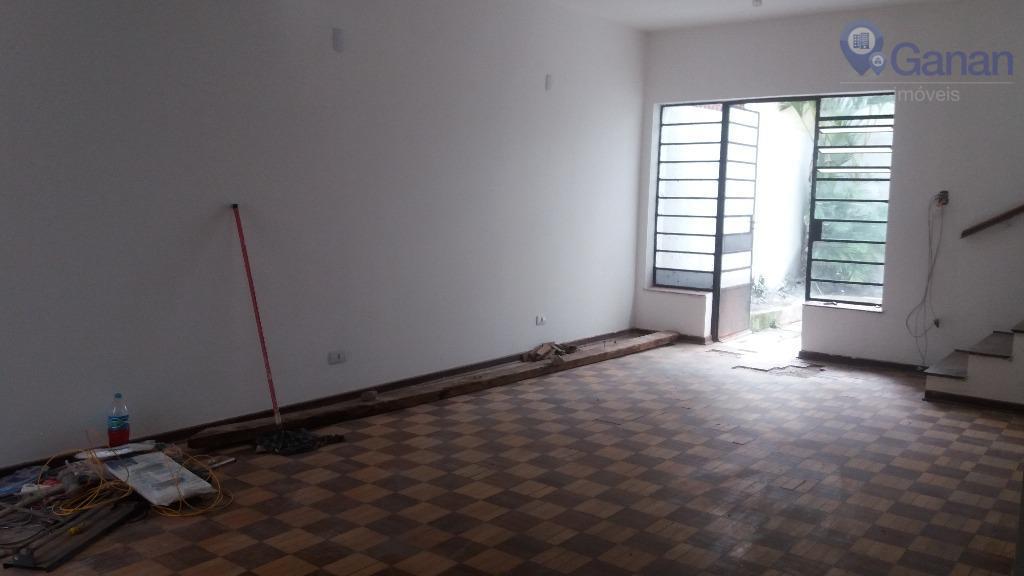 Sobrado residencial para locação, Campo Belo, São Paulo.