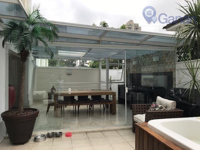 Casa residencial para locação, Brooklin Velho, São Paulo.