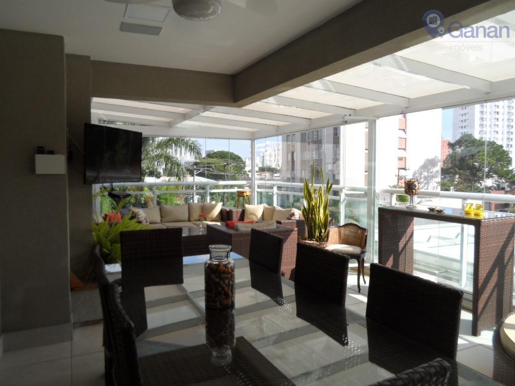 Apartamento Garden residencial à venda, Brooklin, São Paulo.