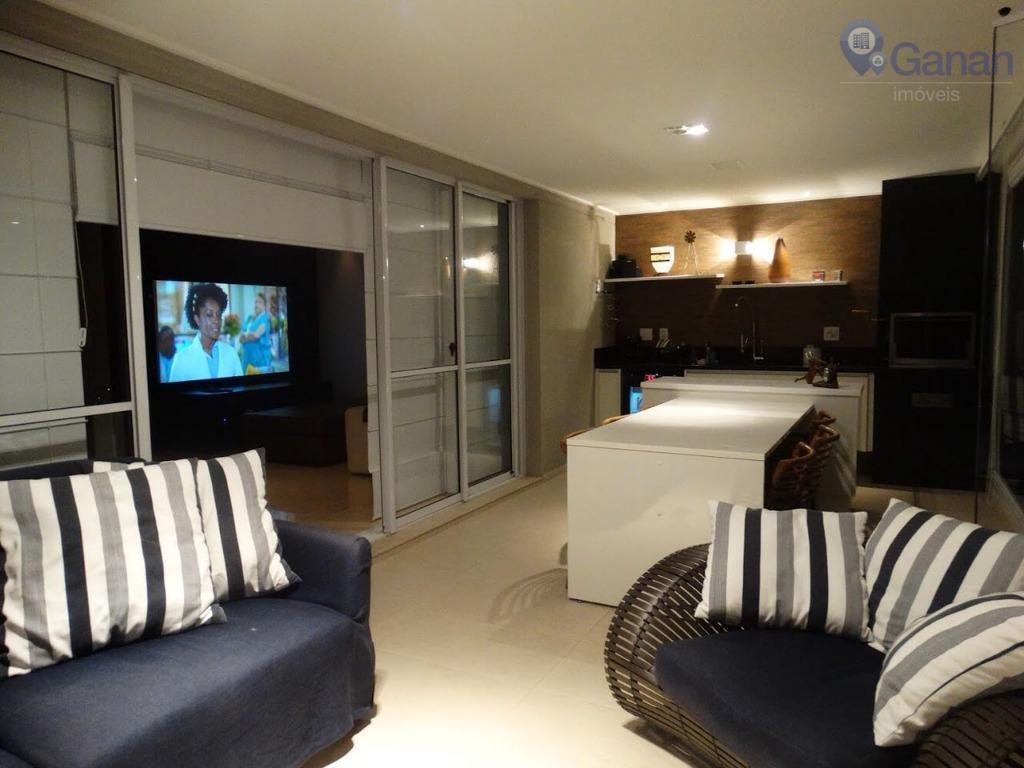 Apartamento alto padrão mobiliado para locação na Vila Mascote.