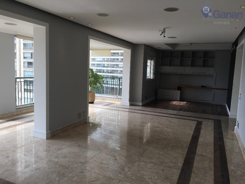 Apartamento residencial Alto Padrão para locação, Brooklin, São Paulo.