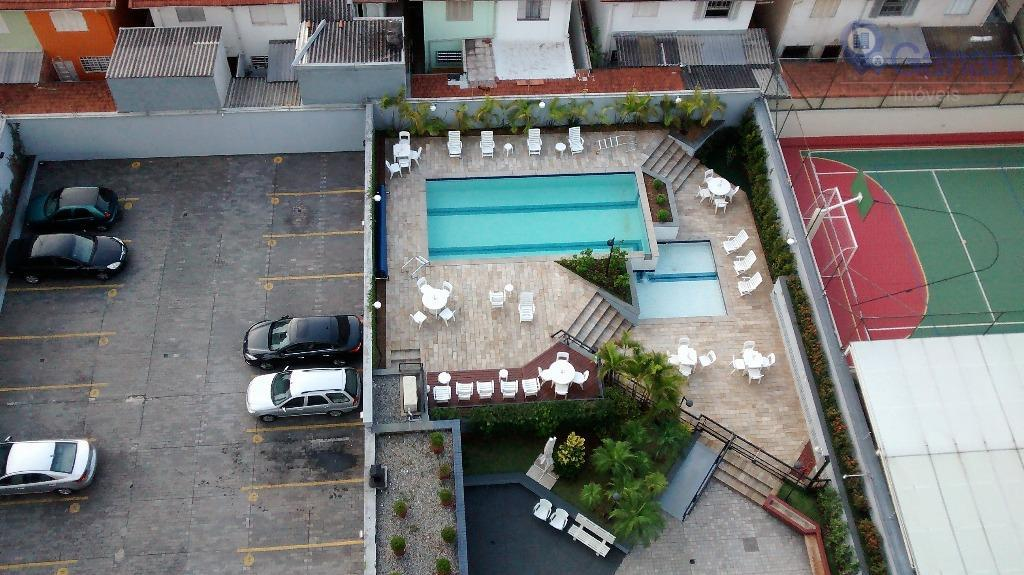 Apartamento com 3 dormitórios à venda, 65 m² por R$ 620.000 - Brooklin - São Paulo/SP