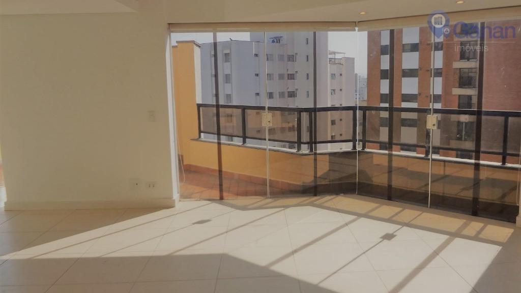 Cobertura residencial para locação, Campo Belo, São Paulo.