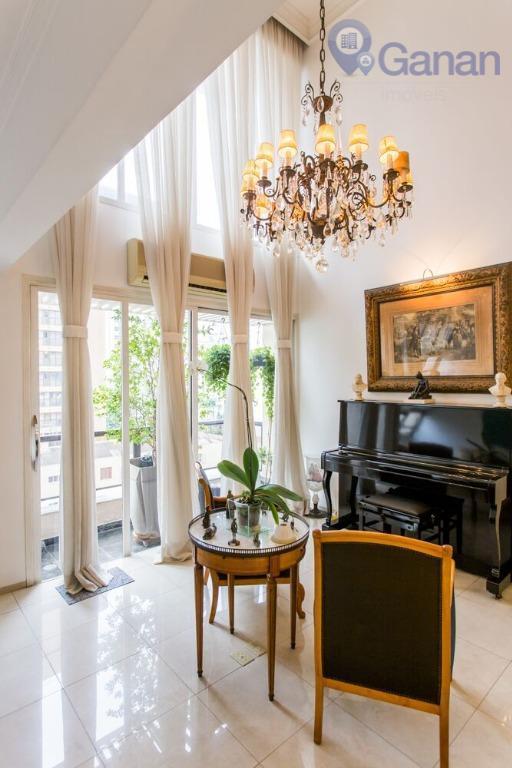 Duplex exclusivo com jeitinho de casa no Itaim Bibi.