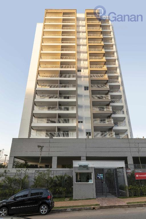 Apartamento com 2 dormitórios à venda, 60 m² por R$ 613.070 - Campo Belo - São Paulo/SP