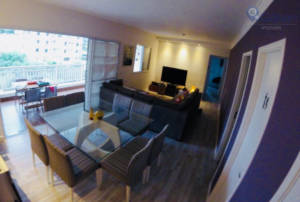 Moderno 3 dormitórios com terraço gourmet.