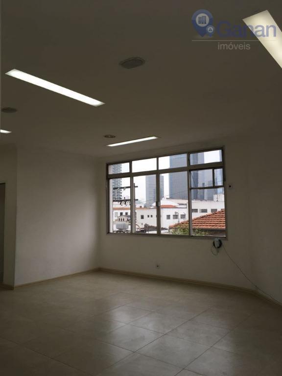 Sala comercial para locação, Chácara Santo Antônio (Zona Sul), São Paulo.