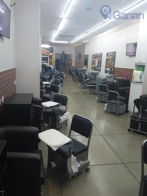 passa-se ponto salão de beleza, todo equipado, em excelente localização (rua augusta), com clientela já formada...