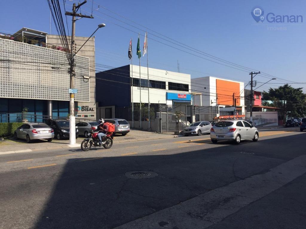 Galpão comercial para locação, Planalto Paulista, São Paulo.