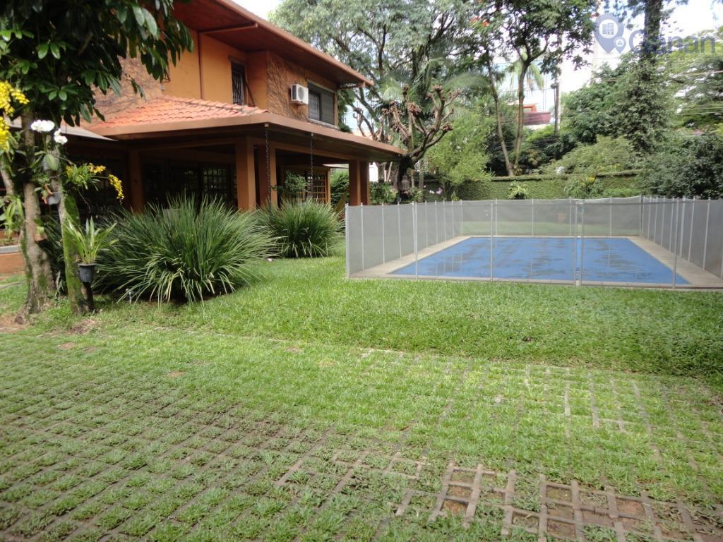 Casa residencial para locação, Jardim Paulistano, São Paulo.