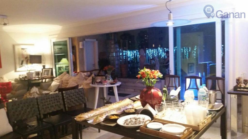 Apartamento Triplex residencial para venda e locação, Real Parque, São Paulo.