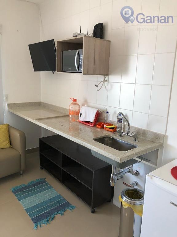 Studio residencial para venda e locação, Brooklin, São Paulo.