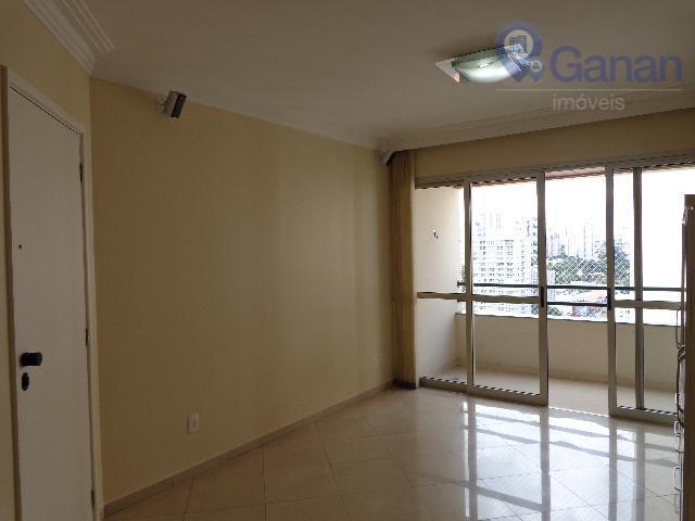 Apartamento com 3 dormitórios para alugar, 96 m² por R$ 3.600/mês - Brooklin - São Paulo/SP