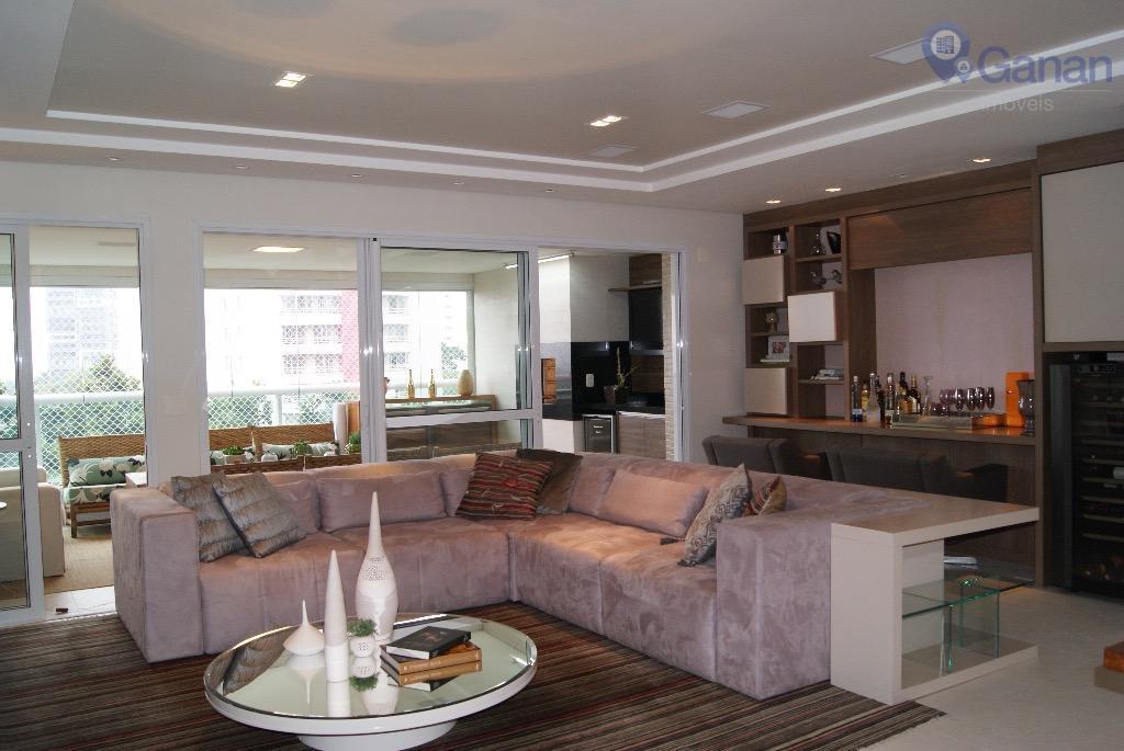 Apartamento com 4 dormitórios à venda, 165 m² por R$ 2.100.000 - Campo Belo - São Paulo/SP